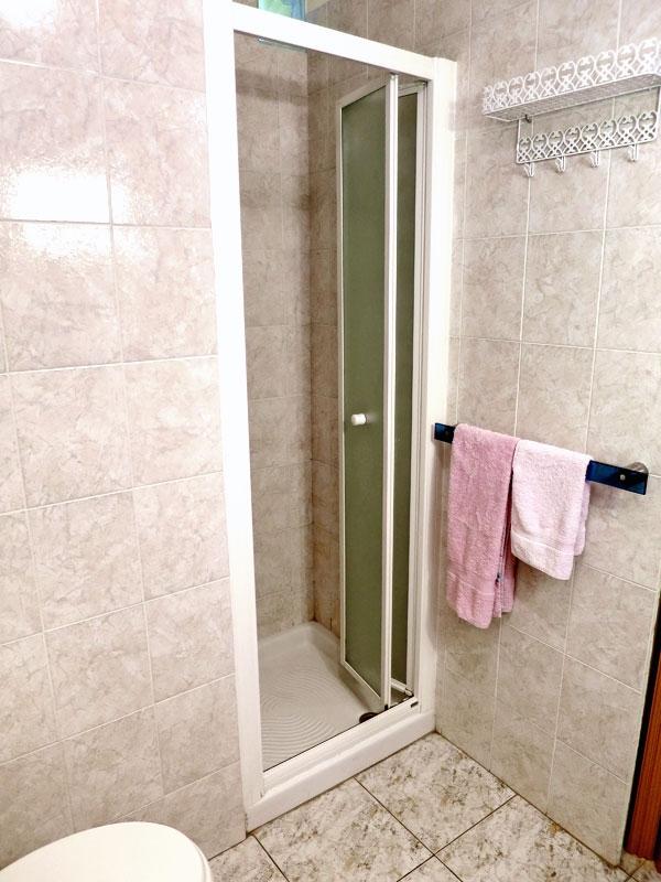 La doccia della stanza